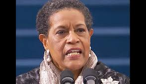 Forget E.F. Hutton;  listen to Myrlie Evers-Williams.
