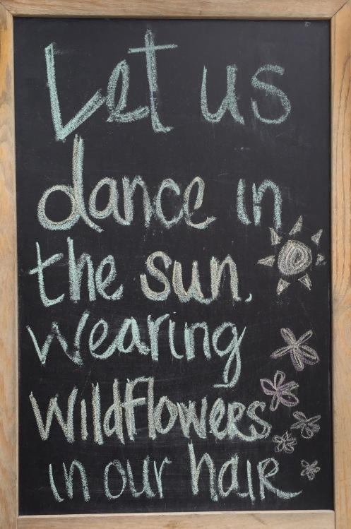 DanceSunWildflowersHair